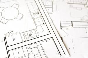 Plans de rénovation architecte