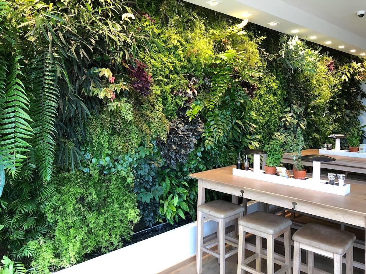 de murs ou de cl/ôtures 51/x 51/cm 50cmx50cm A009 Lot de 6/panneaux de feuilles de lierre artificielles pour d/écoration d/'ext/érieur