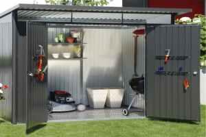 Comment  monter un abri de jardin en métal ?
