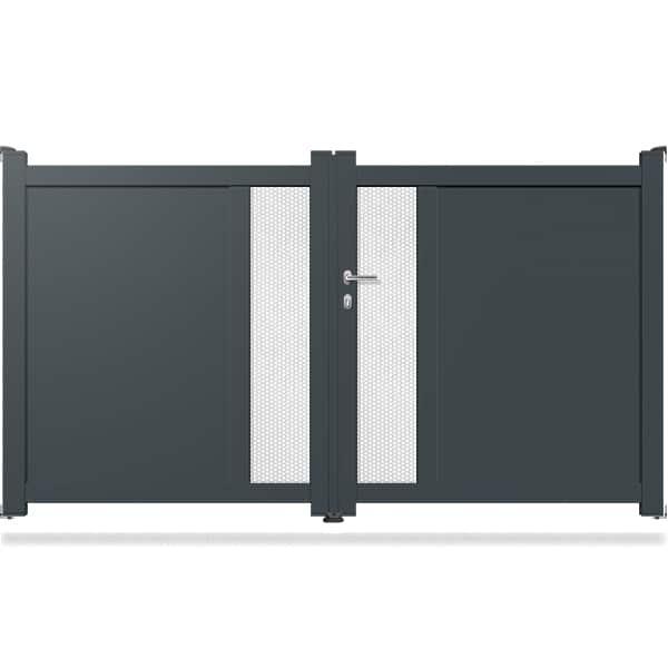 peindre portail en aluminium