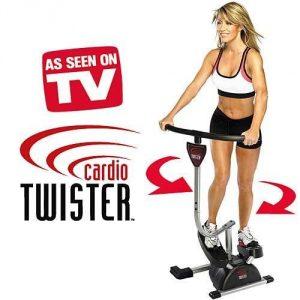 Cardio Twister - Stepper rotatif utilisation
