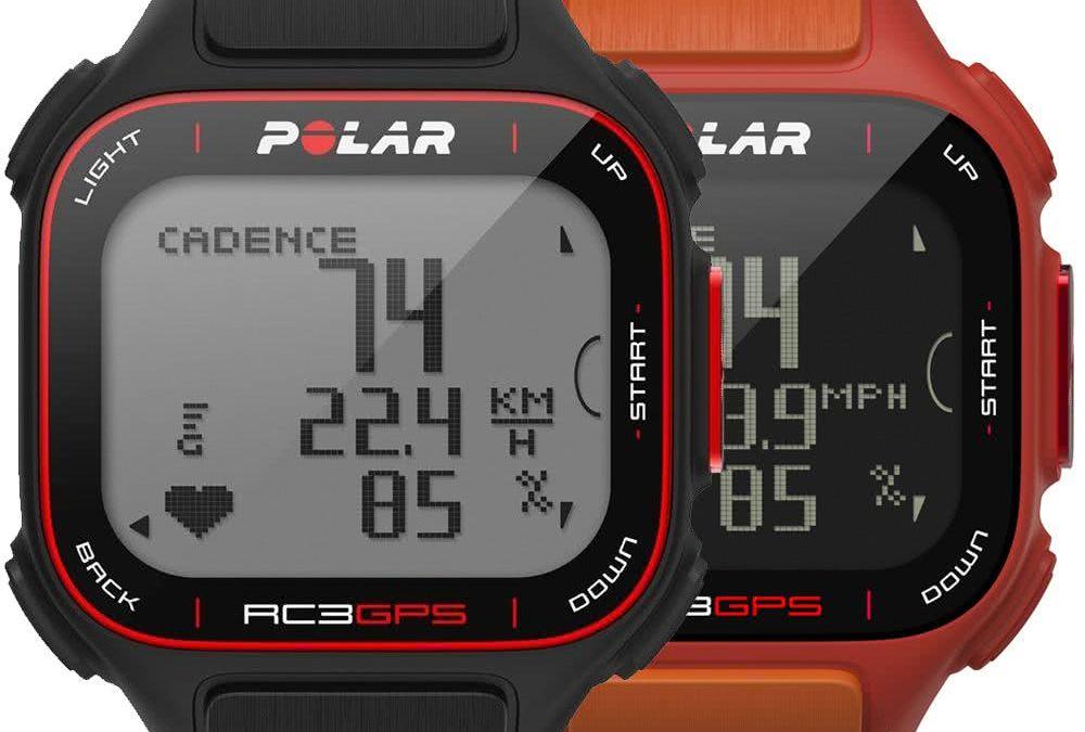Test du Cardiofréquencemètre Polar RC3 GPS