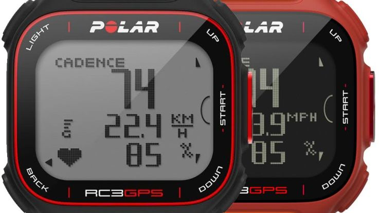 cardiofrequencemetre polar rc3 gps