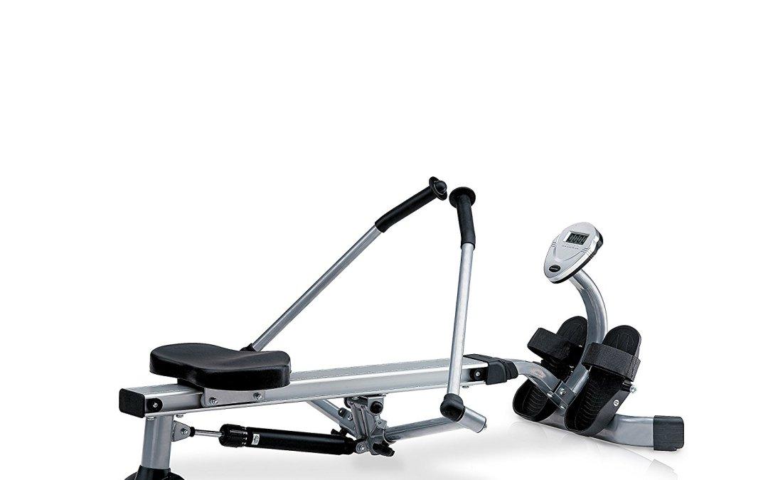 Test du Rameur JK Fitness 5070 Argent/Noir