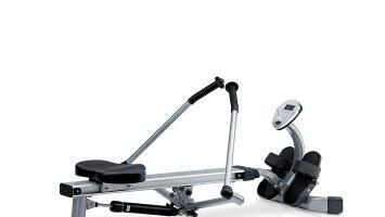 rameur jk fitness 5070 argent noir