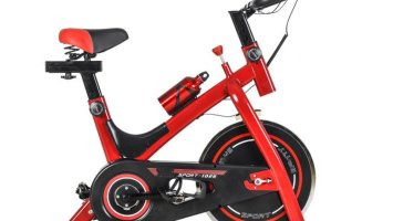 velo appartement exercice spinning ultra silencieux wang
