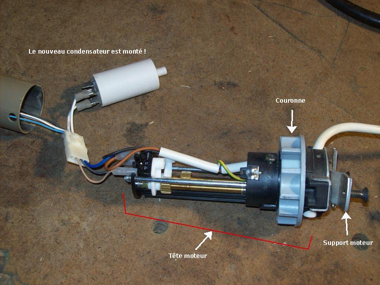 Changer Le Condensateur D Une Pompe Volet Roulant Portail Hotte