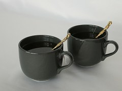 2 cups of green tea