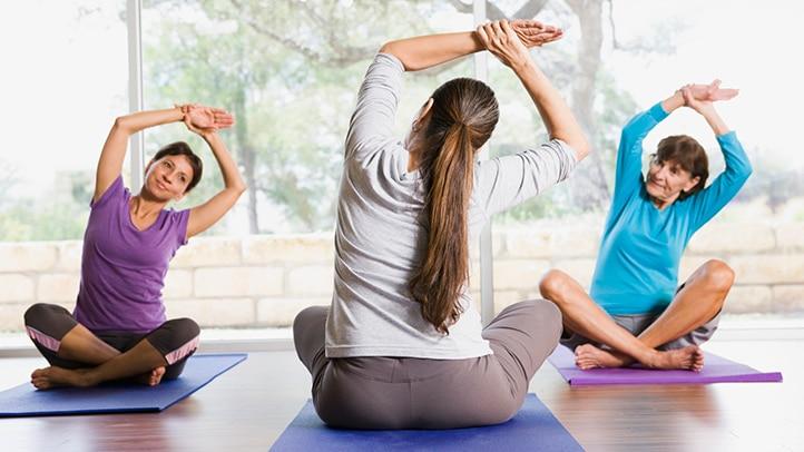 exercices arthrose hanche