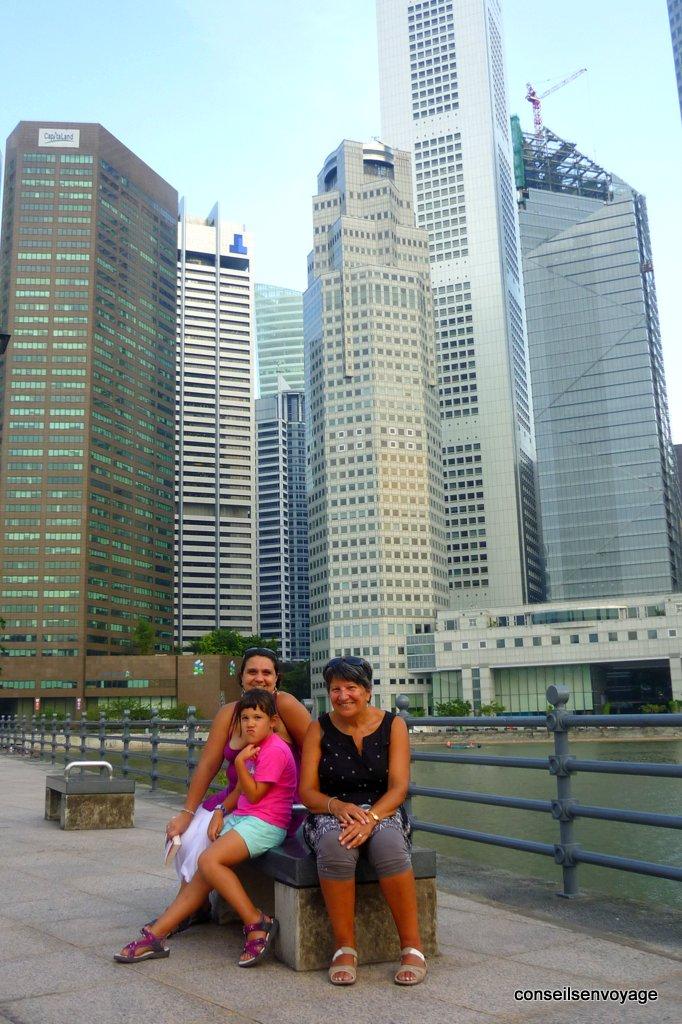 voyage à singapour en famille