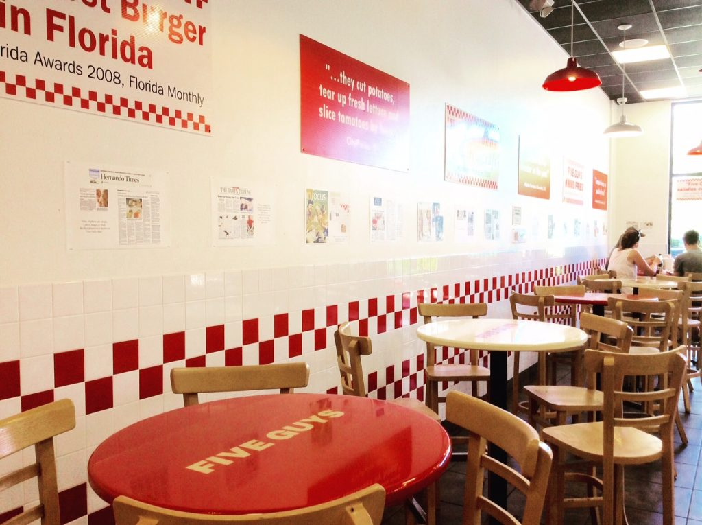Five guys fast food