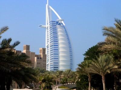 Burj Al Arab Jumeirah vue