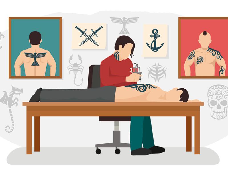 Tatuajes riesgo de hepatitis C