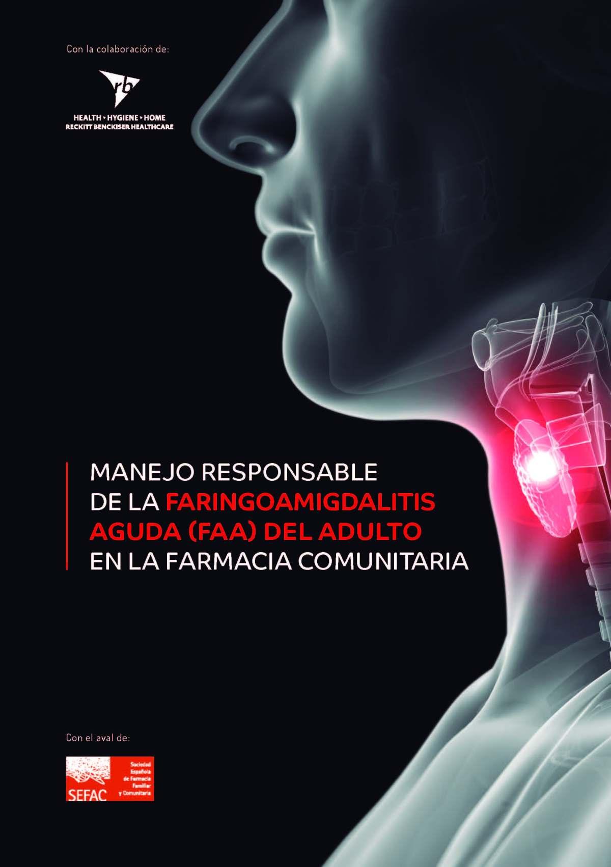 guía faringoamigdalitis
