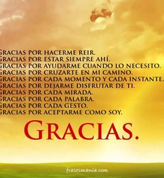 La gratitud