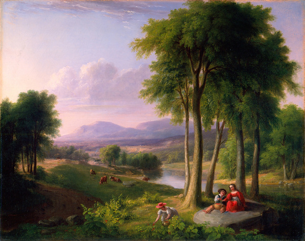 Asher_Durand_View_near_Rutland_1827.jpg (600×475)