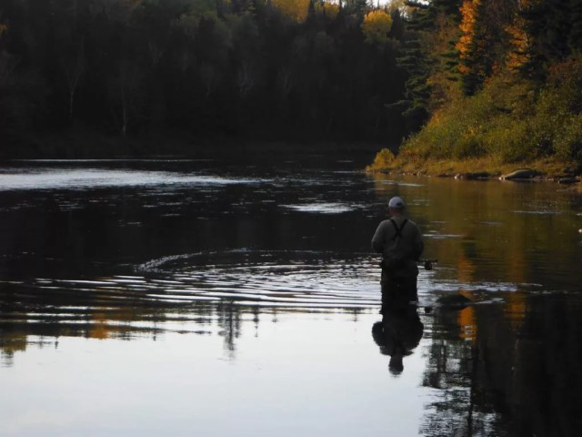 The Cains River, one of dozens of waterways Energy East will intersect in New Brunswick