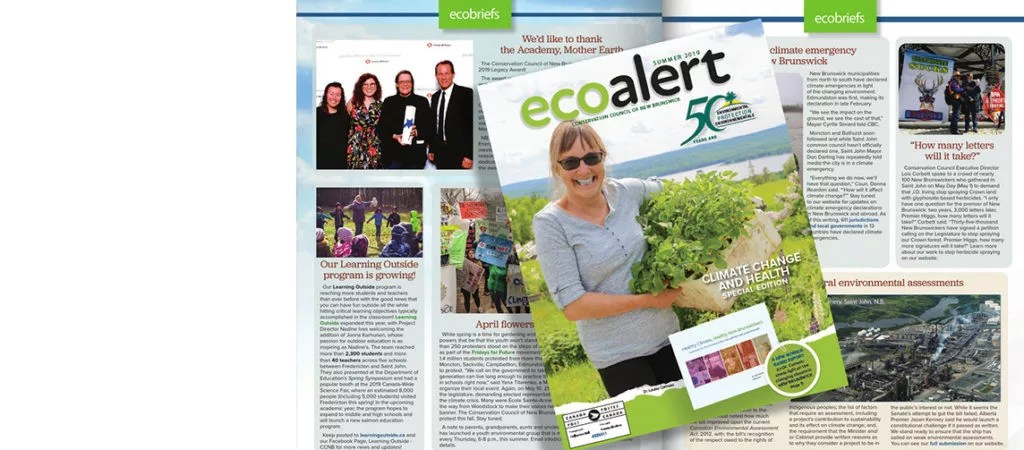 Our climate change and health special edition of EcoAlert Magazine is out!