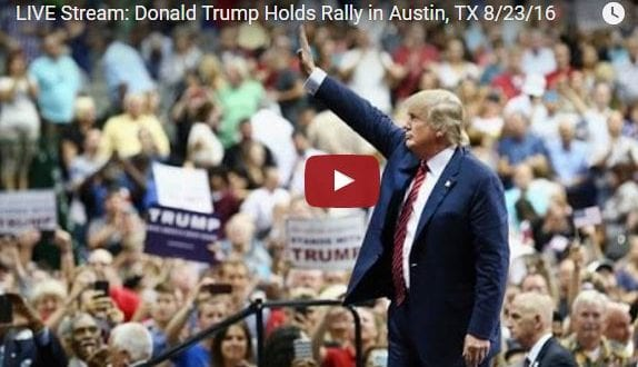 Full Video: Donald Trump Holds Rally in Austin, TX 8/23/16