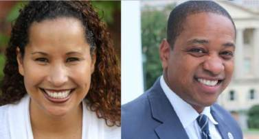 Image result for justin fairfax vanessa tyson
