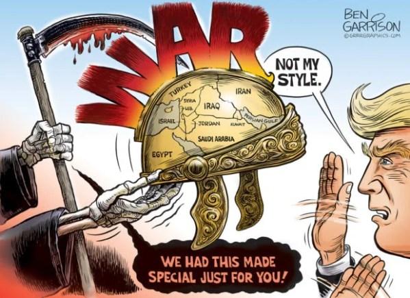 The War Helmet – Grrr Graphics - Ben Garrison Cartoon ...