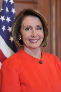 Rep. Nancy Pelosi (D-CA-8). A prize example of taxation without representation.