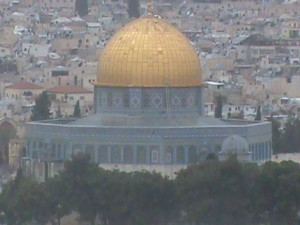 The Dome of the Rock, said to be the third holiest site in Islam. Did it figure in Ezekiel's prophecy?