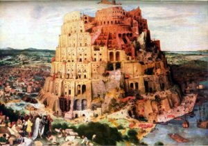 Tower of Babel, ancient counterpart to the United Nations