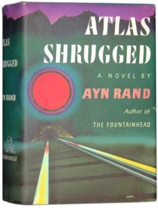 The first hardcover edition of Atlas Shrugged