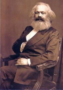 Karl Marx, Jewish-born, but a leftist hater of Jews just the same.