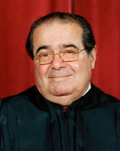 Justice Antonin Scalia has for years warned against judges gone wild.