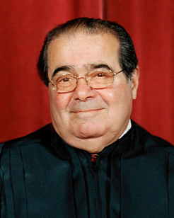 Justice Antonin Scalia said it would break the 8th Amendment for the Court to read the health care reform bill