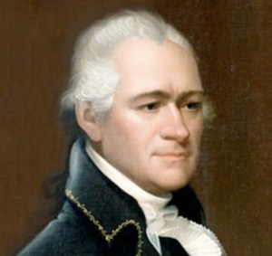 Alexander Hamilton, who brilliantly explained the Commerce Clause. He also saw the danger in a man without a theory. He is a prize example of American exceptionalism and the statesmanship that produced it. And also such things as the electoral college.