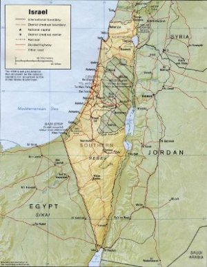 Israel, Judea-Samaria, and Gaza. Did Egypt offer to enlarge Gaza south and west of Israel?