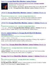 Google screencap after the Midnight Movie Massacre