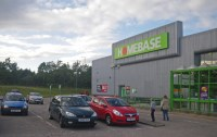 This nearly empty store carpark shows what unemployment can do to a local economy