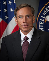 General Petraeus, dressed as a civilian as Director of Central Intelligence