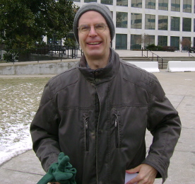 Andrew L. Schlafly, about to take part in the 2013 March for Life