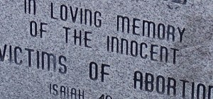 In loving memory of the innocent child victims of abortion