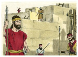 God protects Israel when Israel respects God. Nehemiah knew this. Why don't Israel's leaders today? For that matter, why don't Americans see that? Why listen to modern descendants of Sanballat?