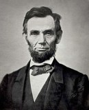 Abraham Lincoln, 150 years ago. Was he old and confused? He also stood against paper money.