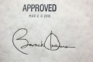 If Americans knew their history, it would take more than this signature to make law.