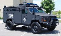 A Nashville Sheriff's Police Bearcat. Sign of militarized police and maybe overweaning government.