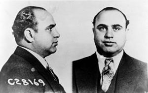 Al Capone, the quintessential American racketeer. Are today's racketeers any more legitimate than he?