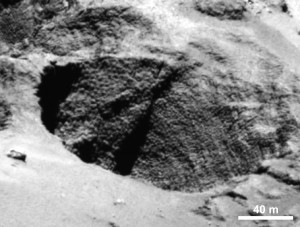 Dinosaur eggs on Comet 67P (image A)