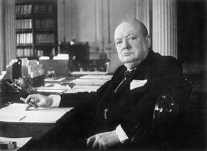 Winston Churchill, a true statesman and an inspiration for Pamela Geller