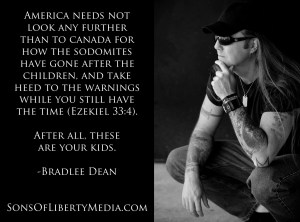 Bradlee Dean warns about the pandemic of child sex abuse to come.