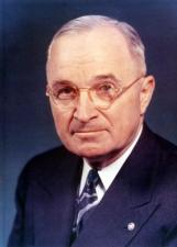 Harry S. Truman showed some of the qualities of a statesman, though he said a statesman was a dead politician.