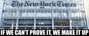 The New York Times, the media madam.
