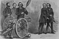 The impeachment of Andrew Johnson was another political scam.